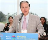 WONCA CEO Dr Alfred Loh at the welcome ceremony