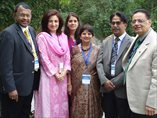 Good friends from India, Srilanka and Pakistan (SAPCRN faculty from Pakistan with Dr Preethi, Dr Ramnik Parekh and Dr Jyoti Parekh