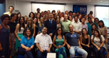 December 2013  with enthusiastic family medicine trainees in Brazil.