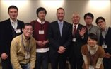 March 2014 with Professor Ryuki Kassai and young family doctors attending the Winter Education Seminar of the Japan Primary Care Association