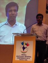 Dr Raman Kumar, WONCA executive young doctor representative and President Academy of Family Physicians of India
