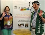 Two chairs of Rajakumar here; Shin Yoshida current chair (right) and Naomi Harris, immediate past chair